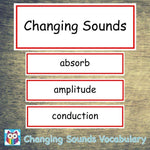 Changing Sounds Vocabulary:Primary Classroom Resources,Digital download