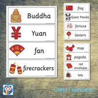 China Flashcards:Primary Classroom Resources