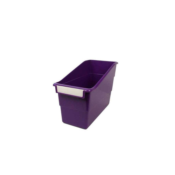 Classroom Book Organiser - Purple:Primary Classroom Resources