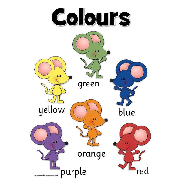Colour Mixing Mice:Primary Classroom Resources