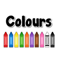 Coloured Crayons Display Pack:Primary Classroom Resources