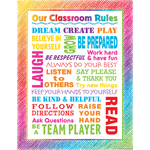 Colourful Scribble Our Classroom Rules Poster
