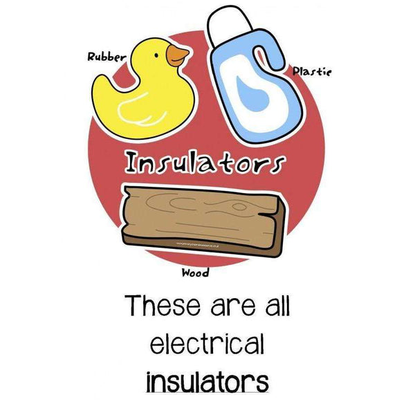 Conductors and Insulators Posters:Primary Classroom Resources