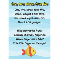 Counting Rhymes Poster - 1,2,3,4,5:Primary Classroom Resources