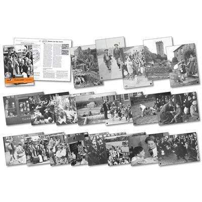 Creative History - Evacuees Photo pack