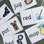 CVC Word Loop Cards:Primary Classroom Resources