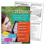 Digital Citizenship Poster (Secondary)