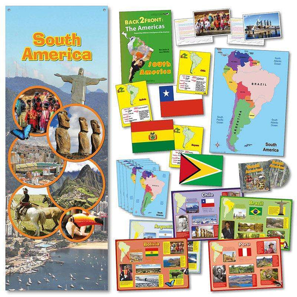 Discover South America Pack:Primary Classroom Resources