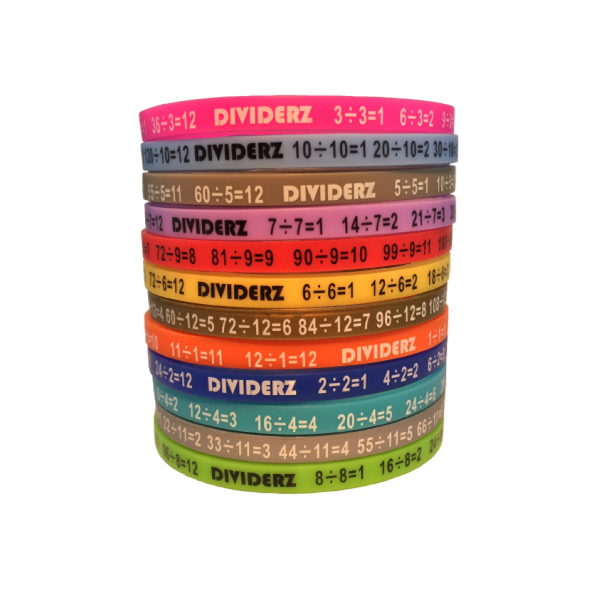 Dividerz - Learn Division Wristbands:Primary Classroom Resources