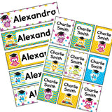 EDITABLE Name Tray & Coat Peg Labels Bundle:Primary Classroom Resources,Digital download / School owl