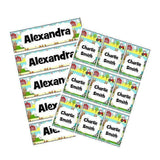 EDITABLE Name Tray & Coat Peg Labels Bundle:Primary Classroom Resources,Digital download / On the farm