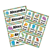 EDITABLE Name Tray & Coat Peg Labels Bundle:Primary Classroom Resources,Digital download / Rainforest animals