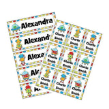 EDITABLE Name Tray & Coat Peg Labels Bundle:Primary Classroom Resources,Digital download / Robots