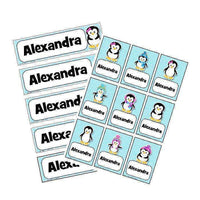 EDITABLE Name Tray & Coat Peg Labels Bundle:Primary Classroom Resources,Digital download / Penguin