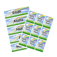 EDITABLE Name Tray & Coat Peg Labels Bundle:Primary Classroom Resources,Digital download / Rainbow