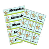 EDITABLE Name Tray & Coat Peg Labels Bundle:Primary Classroom Resources,Digital download / Cute monkeys
