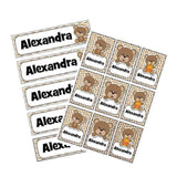 EDITABLE Name Tray & Coat Peg Labels Bundle:Primary Classroom Resources,Digital download / Cute bear