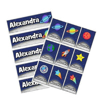 EDITABLE Name Tray & Coat Peg Labels Bundle:Primary Classroom Resources,Digital download / Outer space