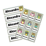 EDITABLE Name Tray & Coat Peg Labels Bundle