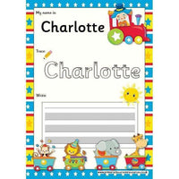EDITABLE Name Writing Cards - Choose your theme!