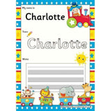 EDITABLE Name Writing Cards - Choose your theme!:Primary Classroom Resources,Circus Train