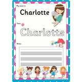 EDITABLE Name Writing Cards - Choose your theme!:Primary Classroom Resources,Fairy