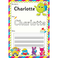 EDITABLE Name Writing Cards - Choose your theme!:Primary Classroom Resources,Monster