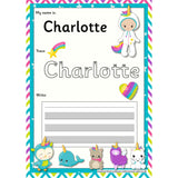 EDITABLE Name Writing Cards - Choose your theme!:Primary Classroom Resources,Unicorn Wannabe