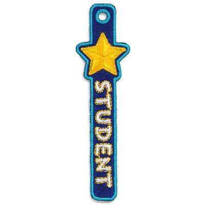 Embroidered PatchTag - Star Student - Pack of 10:Primary Classroom Resources