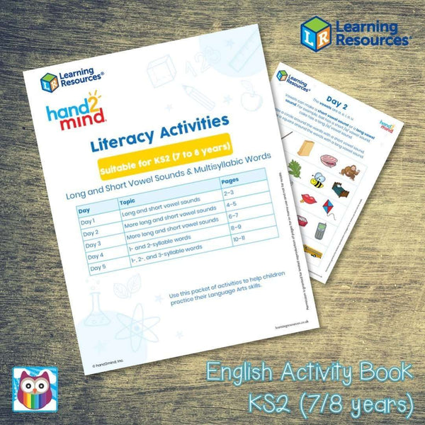 English Activity Book - KS2 (7/8 years):Primary Classroom Resources