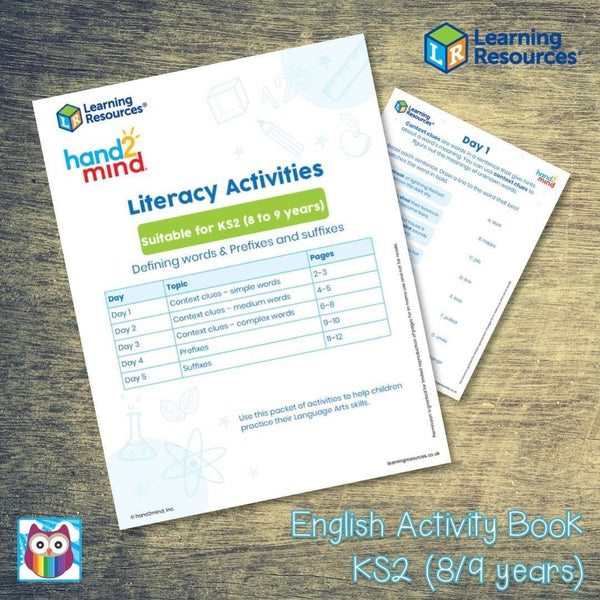 English Activity Book - KS2 (8/9 years):Primary Classroom Resources