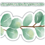 Eucalyptus Die Cut Shaped Classroom Display Border:Primary Classroom Resources