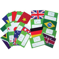 Flags & Facts Cards:Primary Classroom Resources