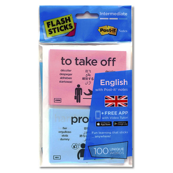 FlashSticks® - English Intermediate (Starter Pack):Primary Classroom Resources