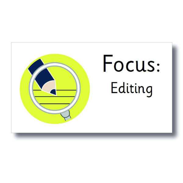 Focus Marking Stickers - Editing:Primary Classroom Resources