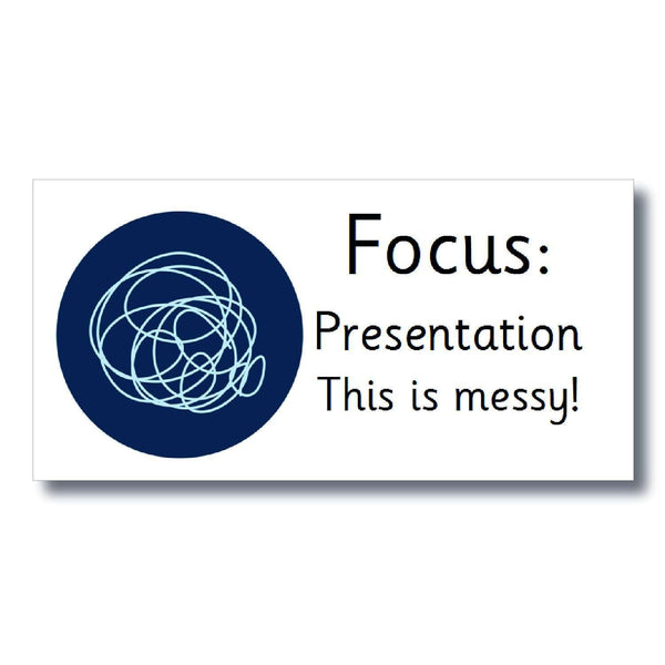 Focus Marking Stickers - Presentation:Primary Classroom Resources