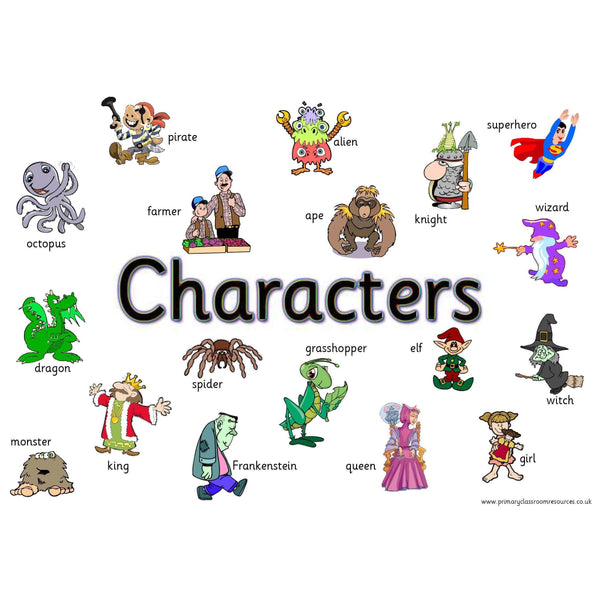 Characters Mat:Primary Classroom Resources