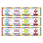 Funky Maths Vocabulary Bookmarks