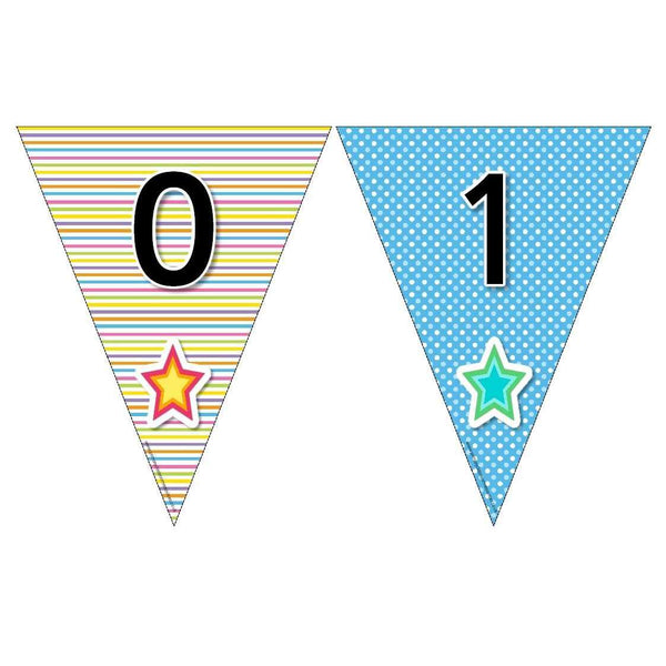 Funky Number Bunting:Primary Classroom Resources