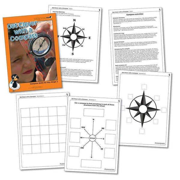Get Clever with a Compass:Primary Classroom Resources
