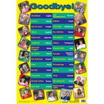 Goodbye in 28 Languages Poster:Primary Classroom Resources