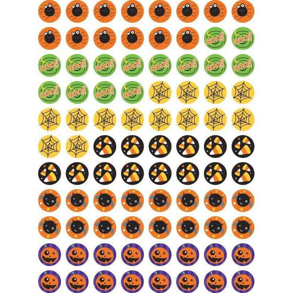 Halloween Hot Spots Chart Seal Stickers