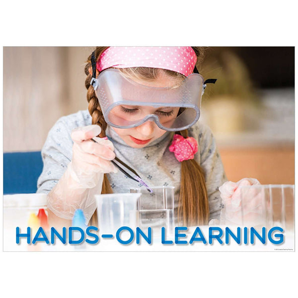 Hands-On Learning - Inspire U Poster:Primary Classroom Resources
