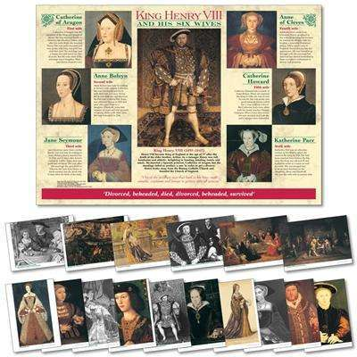 Henry VIII & His Six Wives Poster & Photo pack