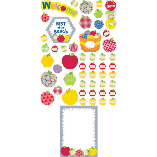 HexaFun Apple Appeal Welcome Bulletin Board Set:Primary Classroom Resources