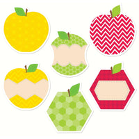 "HexaFun Apples 10"" Jumbo Designer Cut Outs"