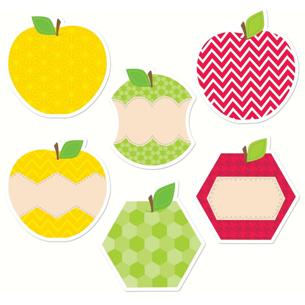 "HexaFun Apples 10"" Jumbo Designer Cut Outs:Primary Classroom Resources"