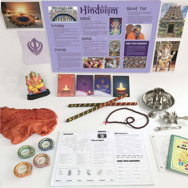 Hinduism Artefacts Pack:Primary Classroom Resources