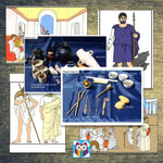 History Helper - Ancient Greece - Picture Cards:Primary Classroom Resources