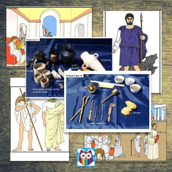 History Helper - Ancient Greece - Picture Cards